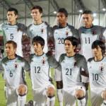 المنتخب الياباني تحت بطل كأس آسيا (ا ف ب)