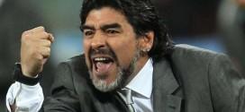 رسالة من مارادونا إلى المنتخبين السعودي والمصري
