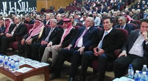 الأمير علي يحضر حفل تأبين الشيخ سلطان العدوان