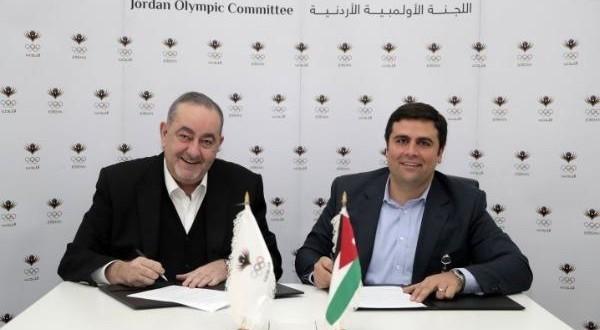 مذكرة تفاهم بين اللجنة الأولمبية الأردنية ورابطة اللاعبين