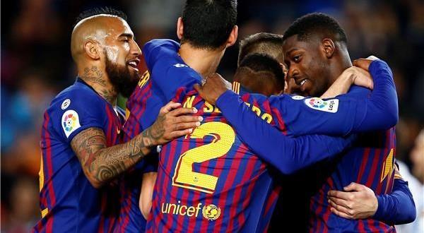 برشلونة يتخطى ريال سوسيداد ويقترب من حسم الليجا