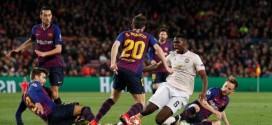 ثلاثية برشلونة تُنهي معجزات مانشستر يونايتد